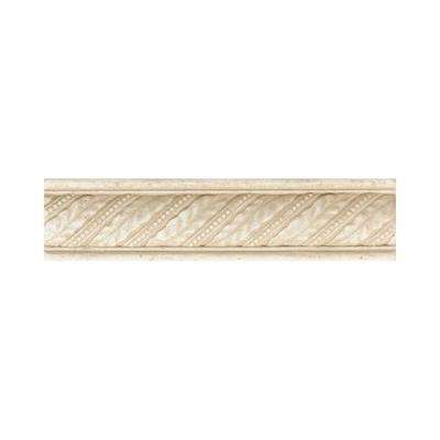 Fashion Accents Crema 2 In X 8 Ceramic Decorative Wall Tile