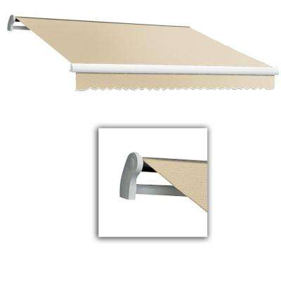 14 ft. LX-Maui Manual Retractable Acrylic Awning (120 in. Projection) in Linen