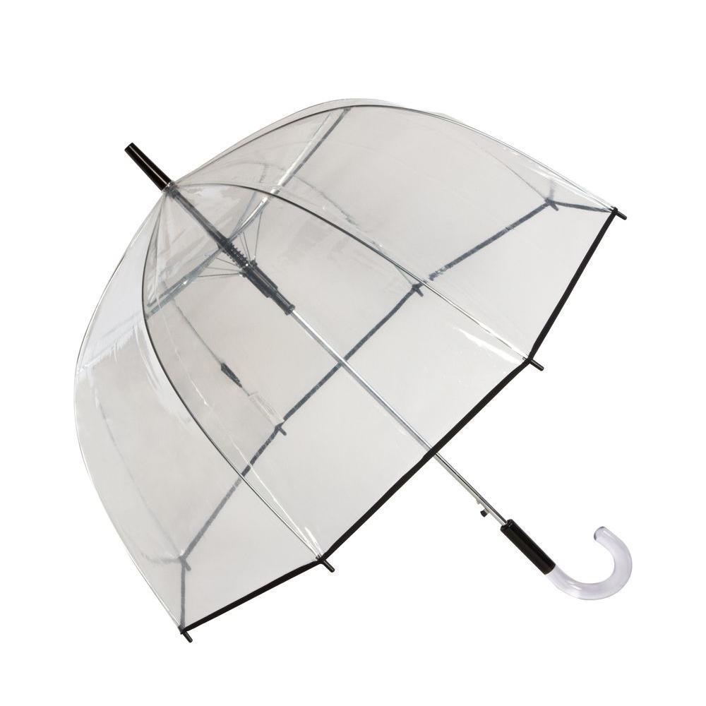 4.8 in. Bubble Auto Stick Umbrella in Clear
