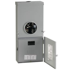 Ge 200 Amp 4 Space 8 Circuit Outdoor Combination Main