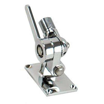 Ratchet/Antenna Mount - Chrome-Plated Brass