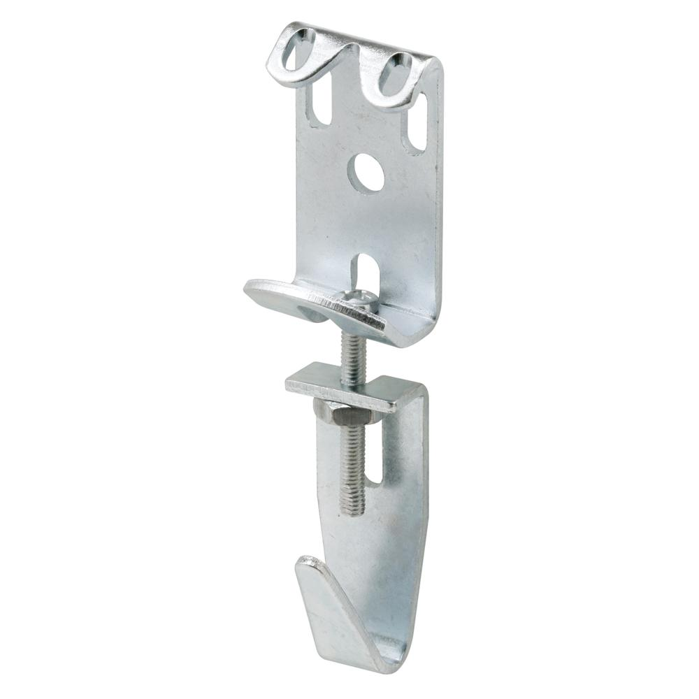 Prime-Line 2-7/8 in. to 3-11/16 in. Steel Zinc Plated Finish Picture and Mirror Hanger Assembly (Pack of 2)