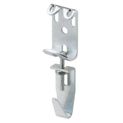 2-7/8 in. to 3-11/16 in. Steel Zinc Plated Finish Picture and Mirror Hanger Assembly (Pack of 2)