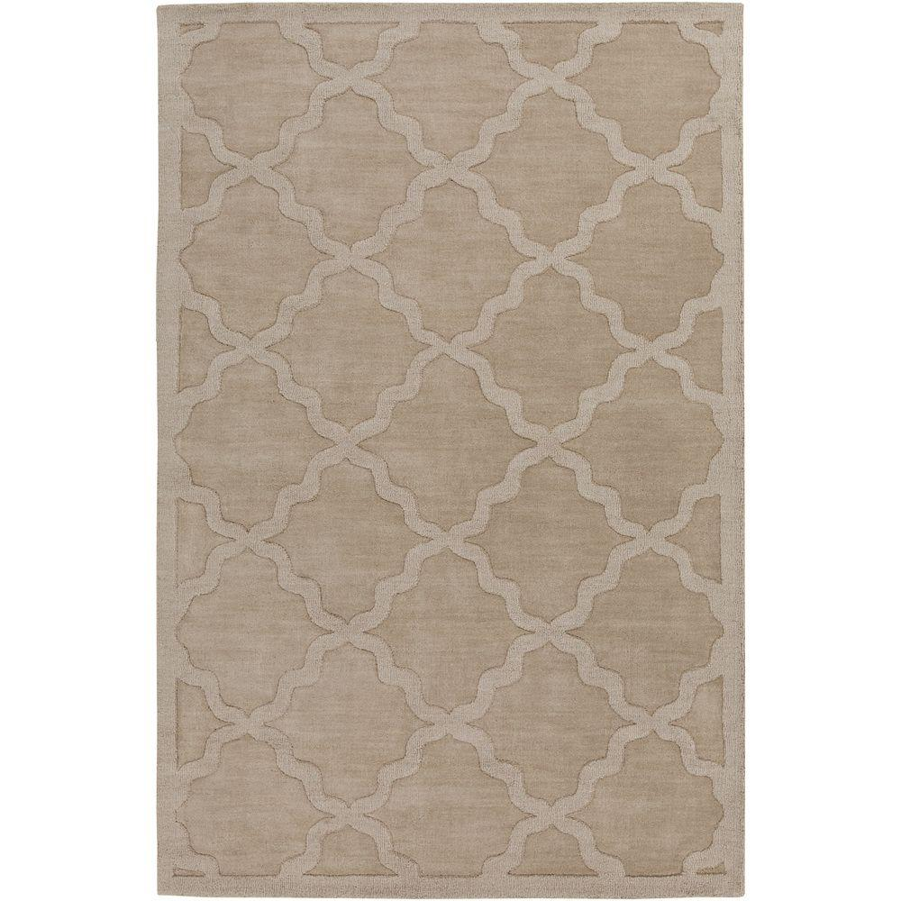 Central Park Abbey Beige 9 ft. x 12 ft. Indoor Area