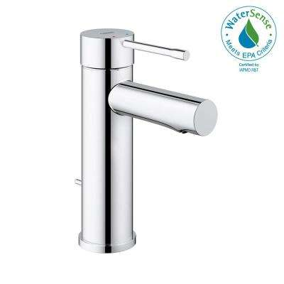 Essence New Single Hole Single-Handle 1.2 GPM Low-Arc Bathroom Faucet in StarLight Chrome