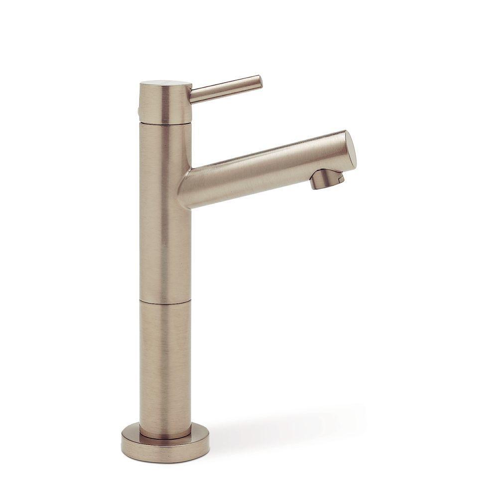 Alta Single-Handle Bar Faucet in Satin Nickel