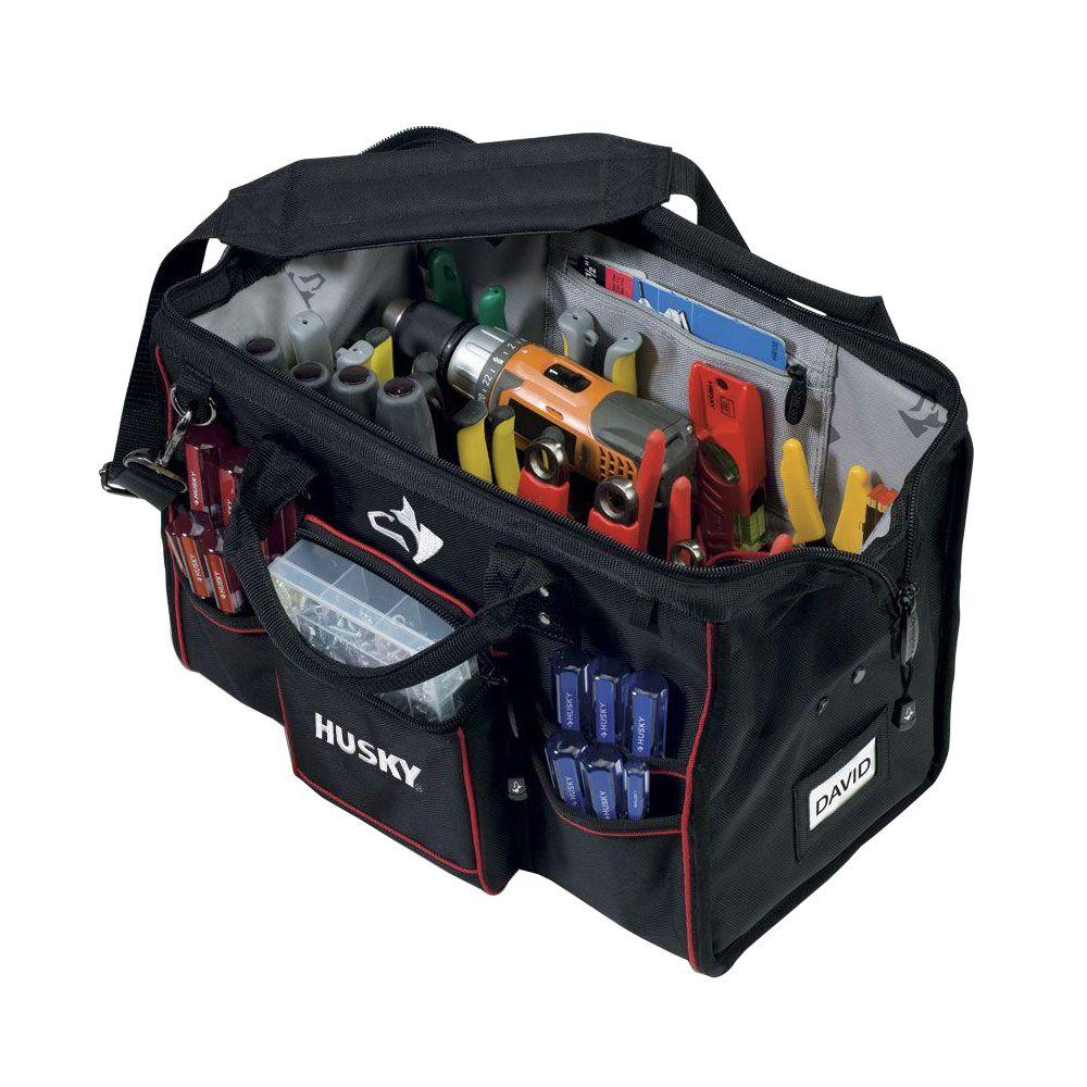 Tool Bag Organizer Storage Holder Large Mouth Water Resistant Heavy Duty