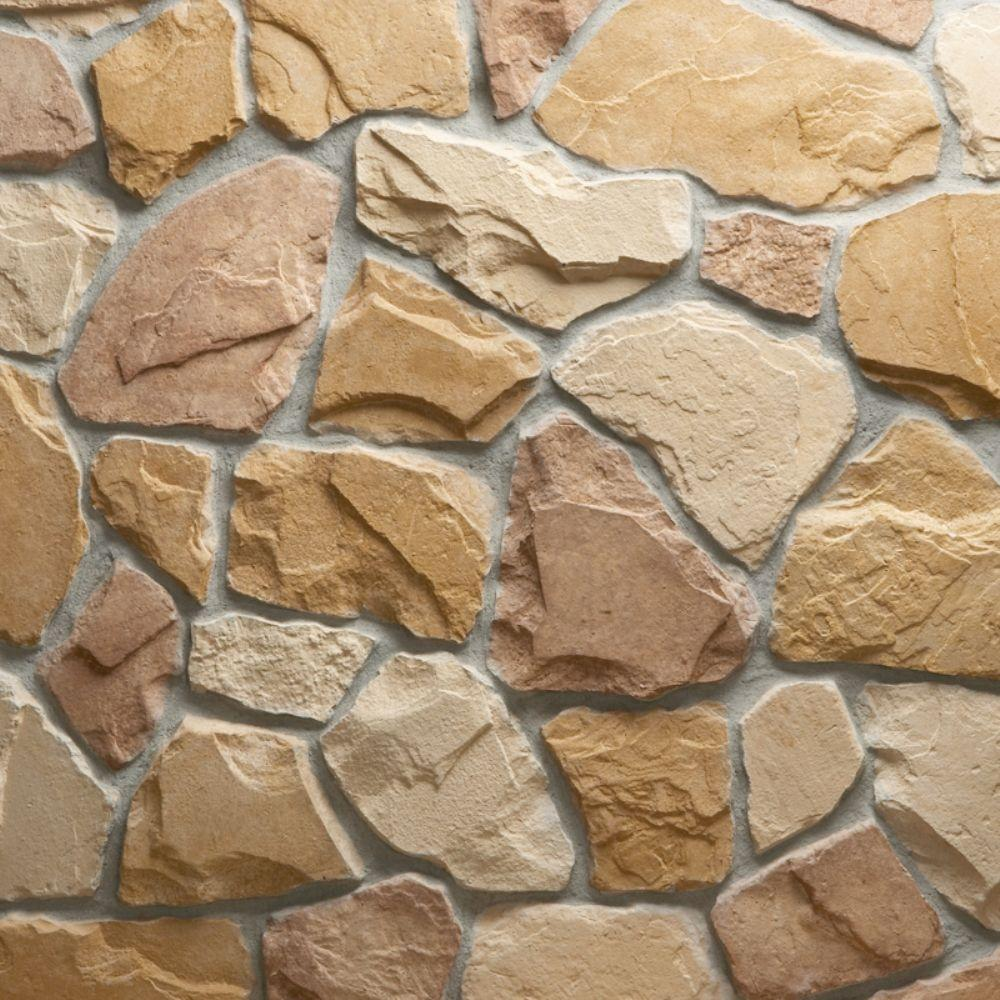 Veneerstone Field Stone Burlwood Flats 10 Sq Ft Handy