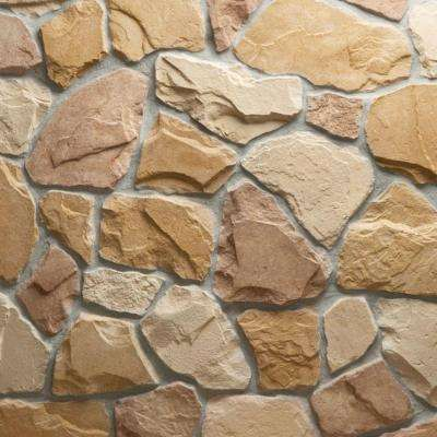 Field Stone Burlwood Flats 10 sq. ft. Handy Pack Manufactured Stone