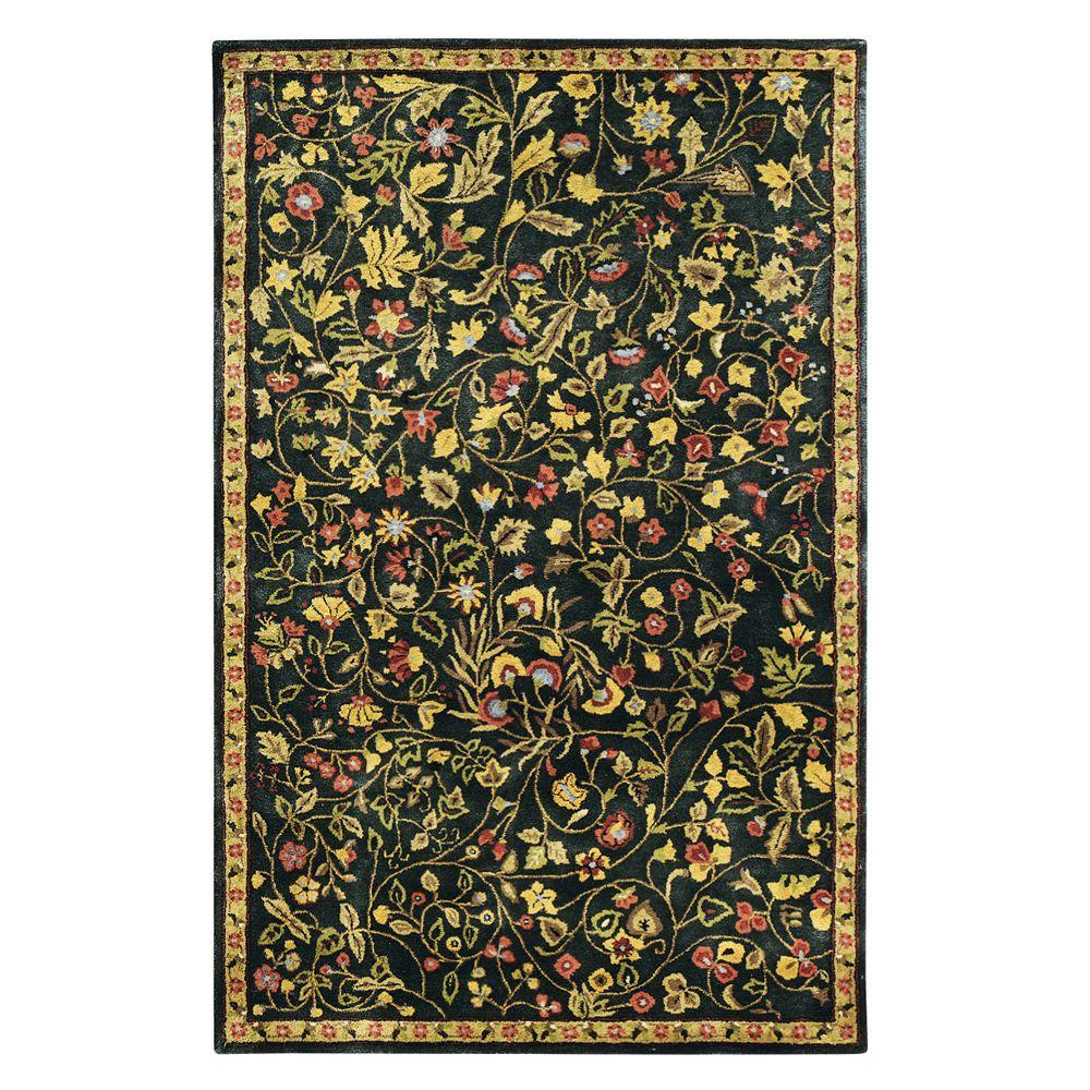 Home Decorators Collection Bristol Green 3 ft. 6 in. x 5 ft. 6 in. Area Rug