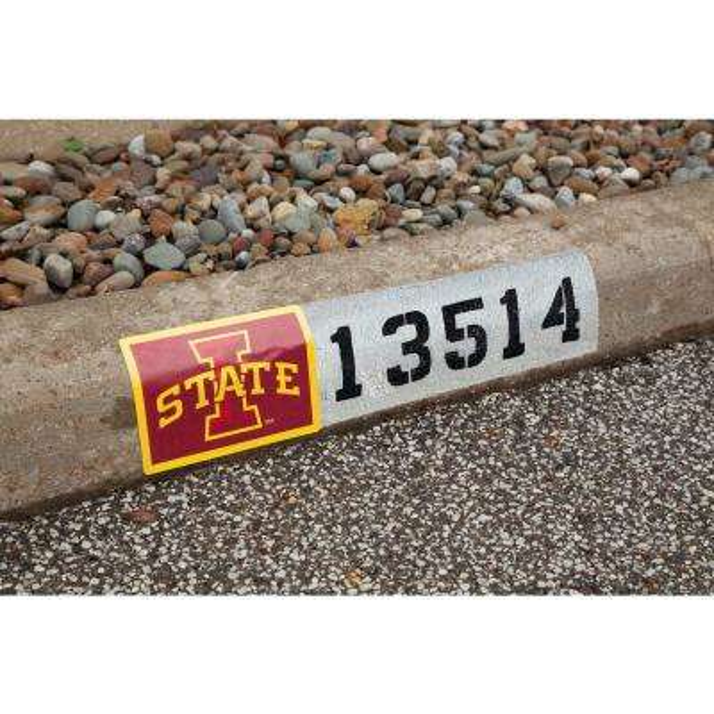NCAA Iowa State Cyclones Address Logo Graphic