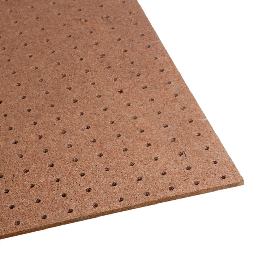 1 4 In X 4 Ft X 8 Ft Tempered Pegboard 210552 The