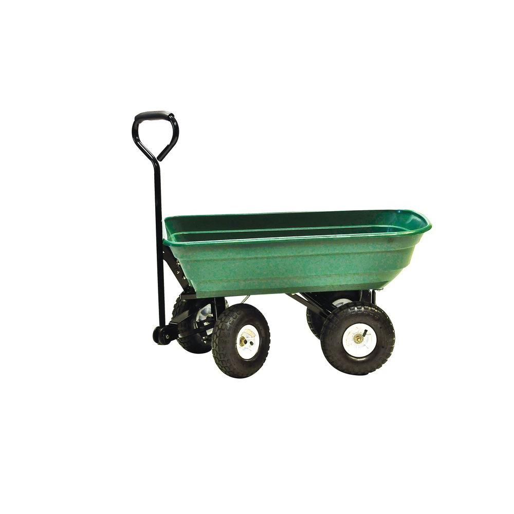 4 cu. ft. 600 lb. Mighty Garden Yard Cart