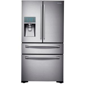 Awesome 4 Door French Door Refrigerator In Stainless Steel, Counter