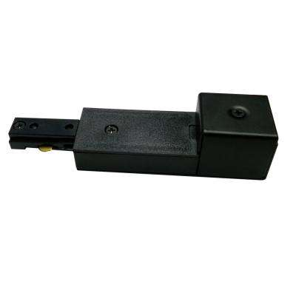 2400-Watt Black Linear Track Conduit Power Feed