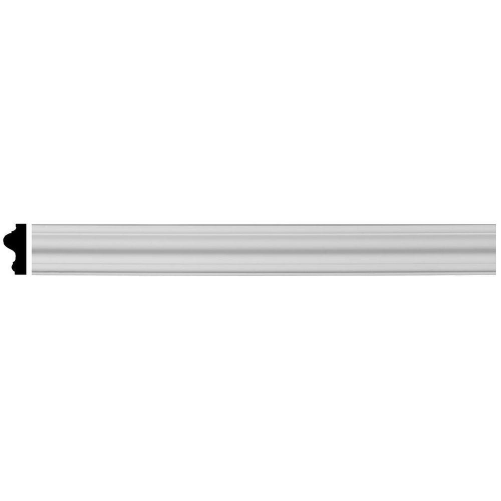Ekena Millwork 3/4 In. X 1-1/2 In. X 96 In. Polyurethane