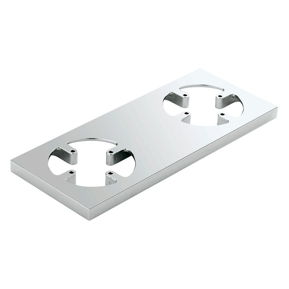 Allure F-Digital Decorative Trim Plate in StarLight Chrome (Valve Not Included)