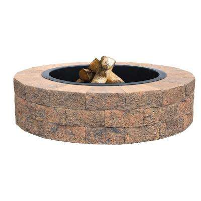 Countryside 48 in. Tan Fire Pit Kit