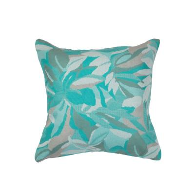 Dewey Spa Square Outdoor Accent Throw Pillow