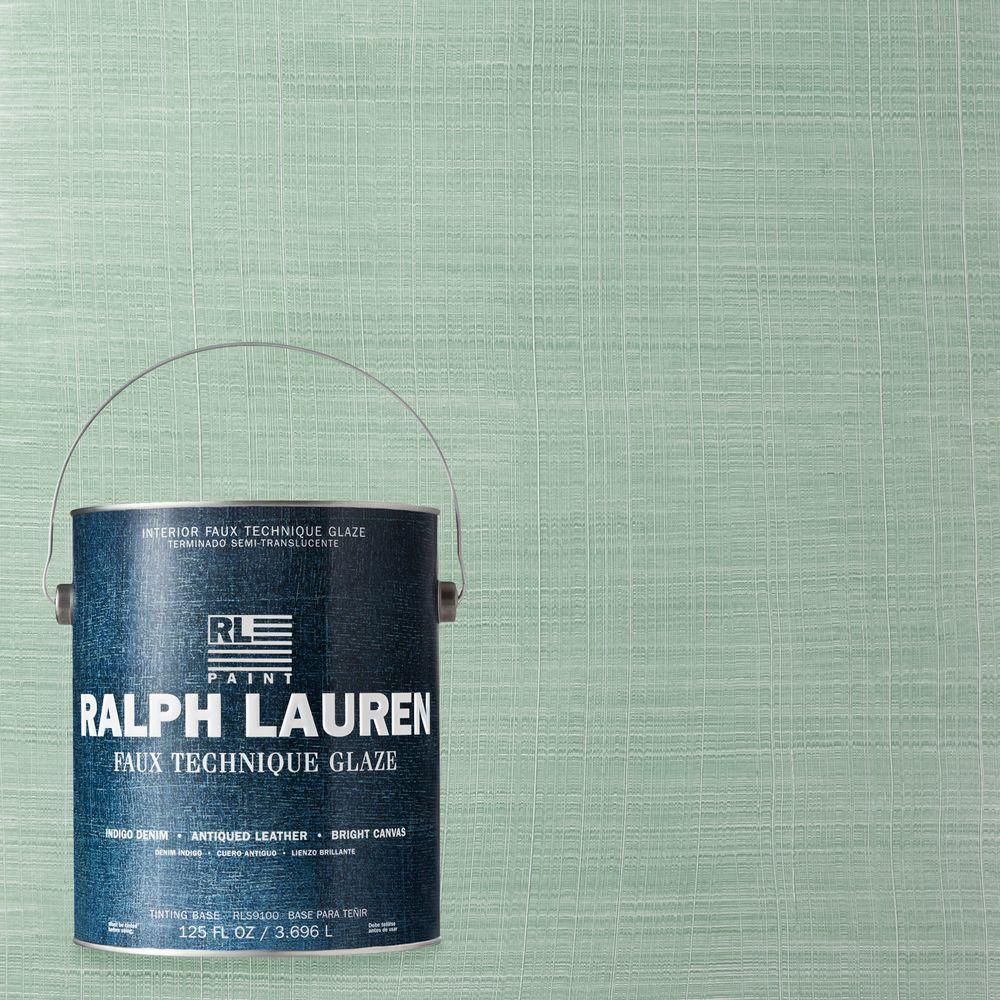Ralph Lauren 1-gal. Capri Blue Bright Canvas Specialty Finish Interior Paint