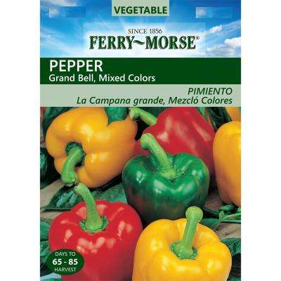 Pepper Grand Bell Mix Seed