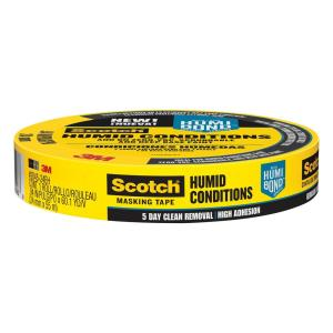 3M Scotch 0.94 inch x 60.1 yds. Masking Tape for Humid Conditions (Case of 24) by 3M