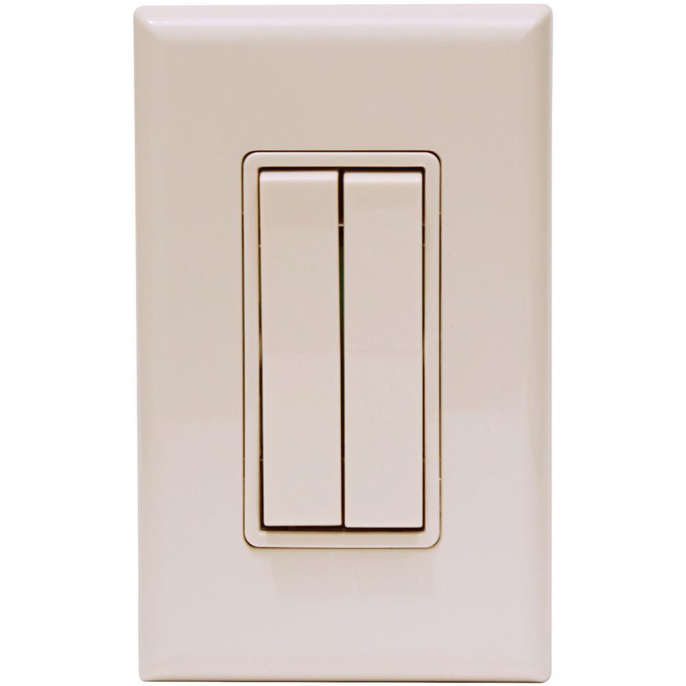 Click for Philips Hue Rocker Light Switch, Beige