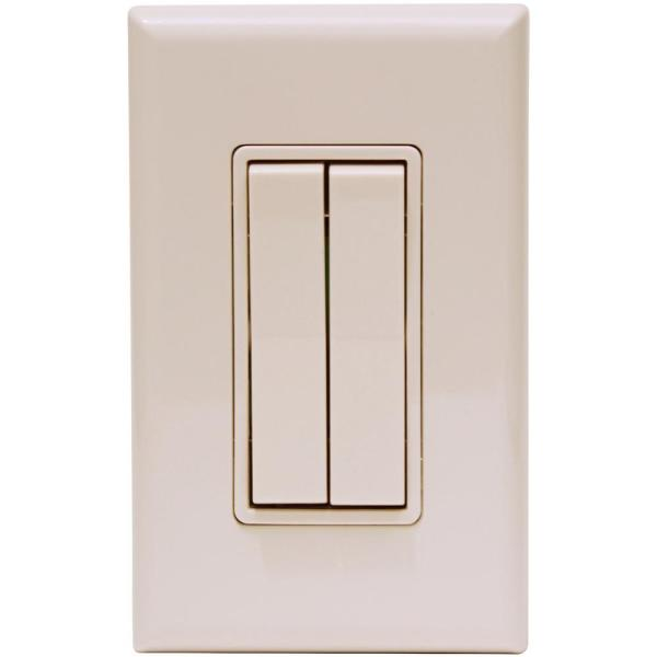 Click for Philips Hue Rocker Light Switch, Beige