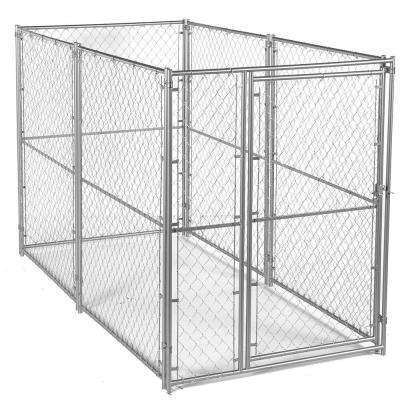 6 ft. H x 5 ft. W x 10 ft. L Modular Chain Link Kennel Kit