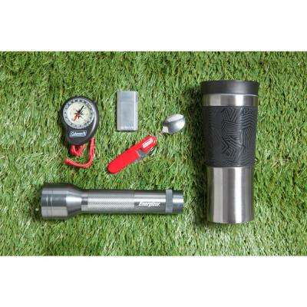 Dash 17 oz. Black Grip Stainless Steel Vacuum 360 Travel Mug