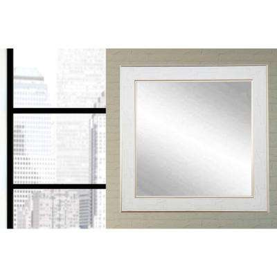 Legacy Gold Trimmed Square Wall Mirror