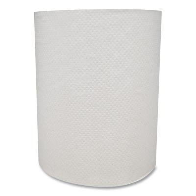 Morsoft Universal Hardwound Paper Towels, Paper, White, 7.8 in. x 600 ft., 12-Rolls/Carton