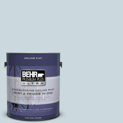 1-gal. #PPU13-16 Ceiling Tinted to Offshore Mist Interior Paint
