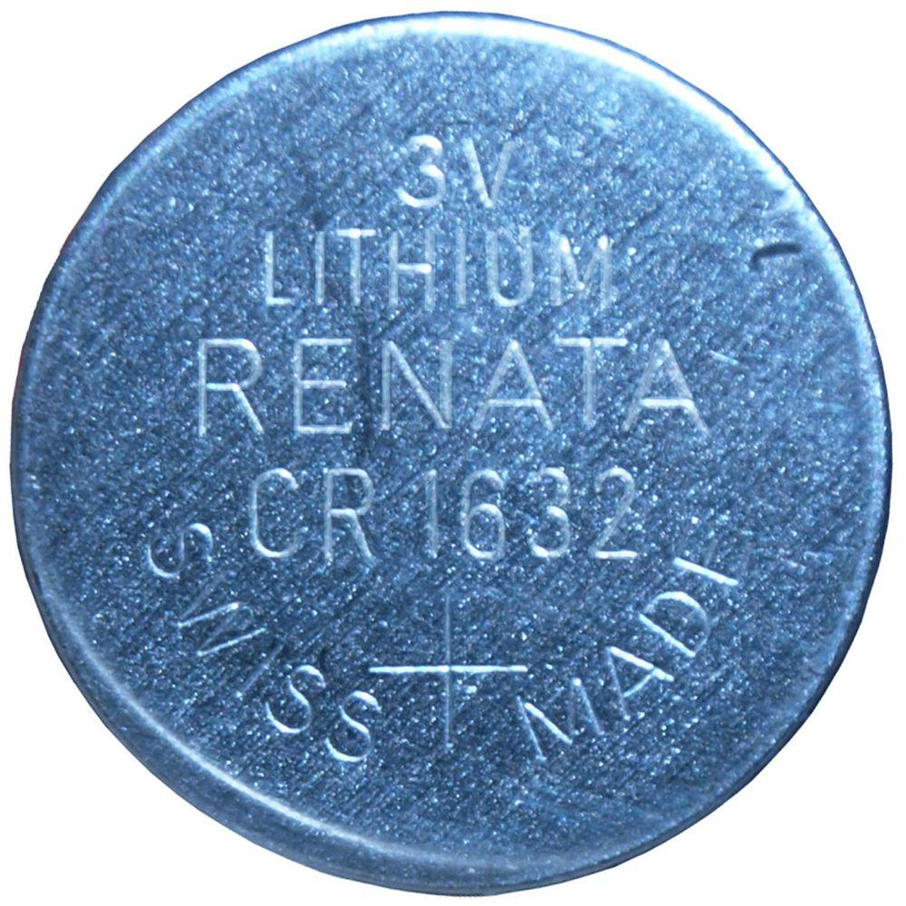 Renata Lithium CR1632 3-Volt Coin Cell Battery (5-Pack)
