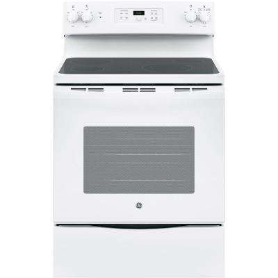 manual clean ge electric ranges ranges the home depot rh homedepot com Hotpoint Electric Oven ge hotpoint stove parts