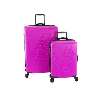 Redondo 2-Piece Pink Hardside Luggage Set