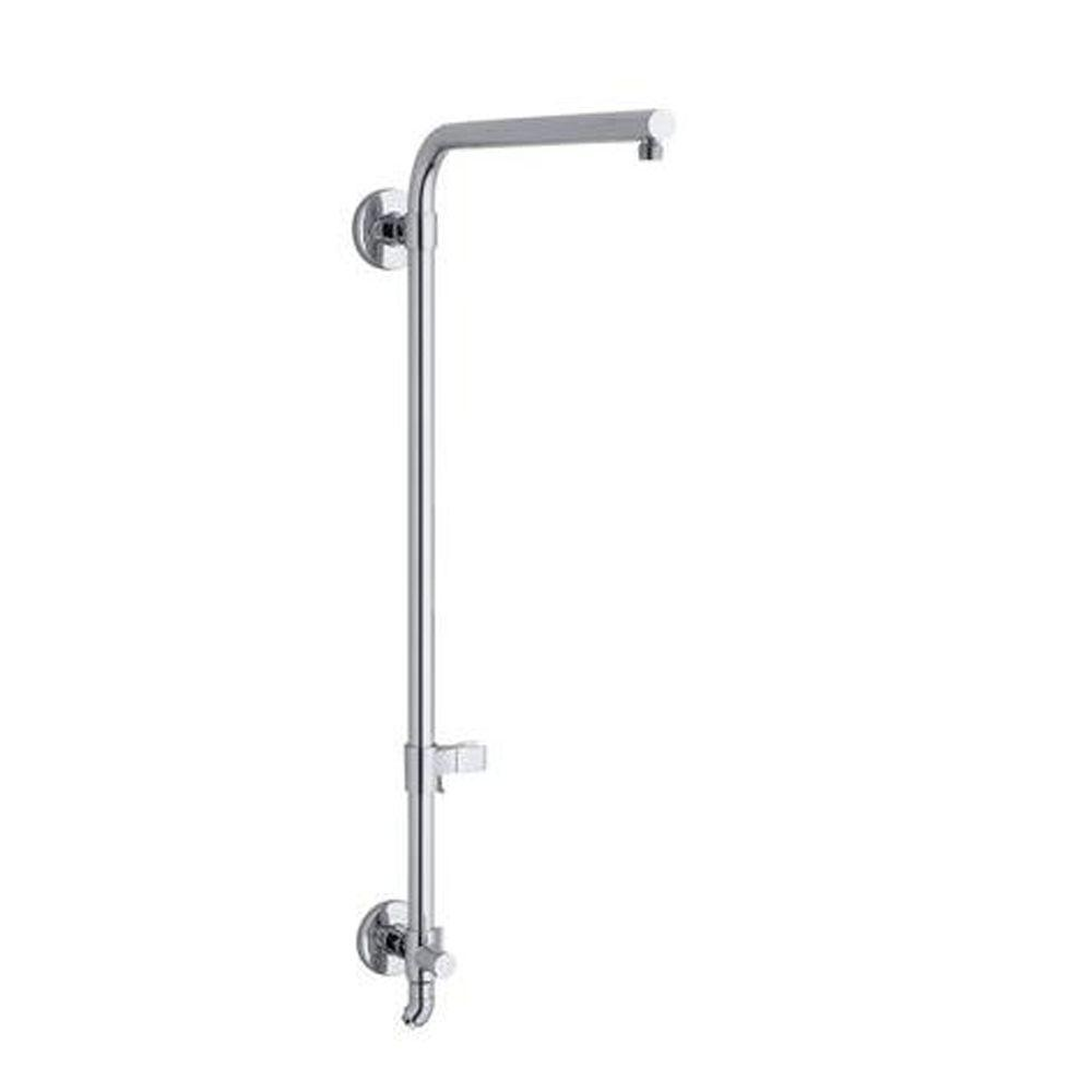 HydroRail Bath/Shower Column for Beam Shower Arm in Polished Chrome