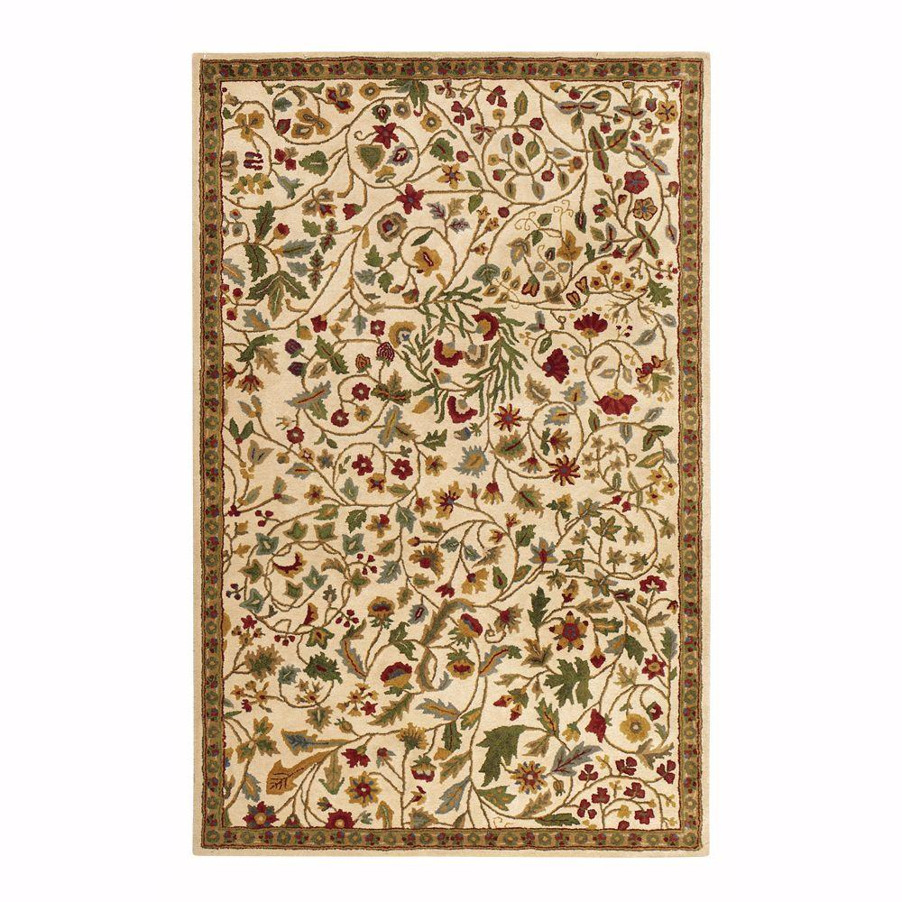 Home Decorators Collection Rugs: Home Decorators Collection Bristol Beige 3 Ft. 6 In. X 5