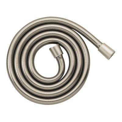 Techniflex 63 in. Rubber Hand Shower Hose in Brushed Nickel