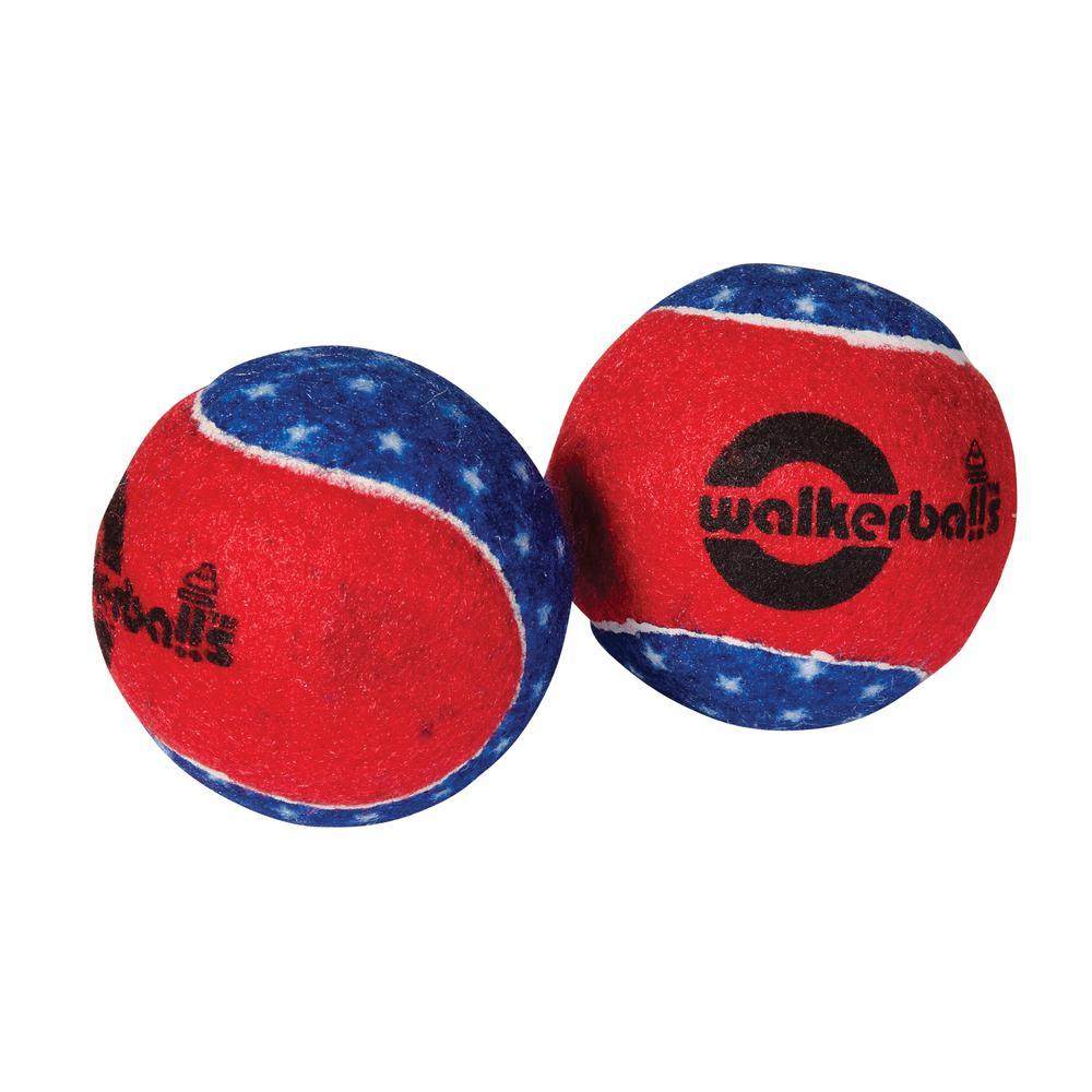 Mabis 510-1035-9907 Walkerballs - Patriotic