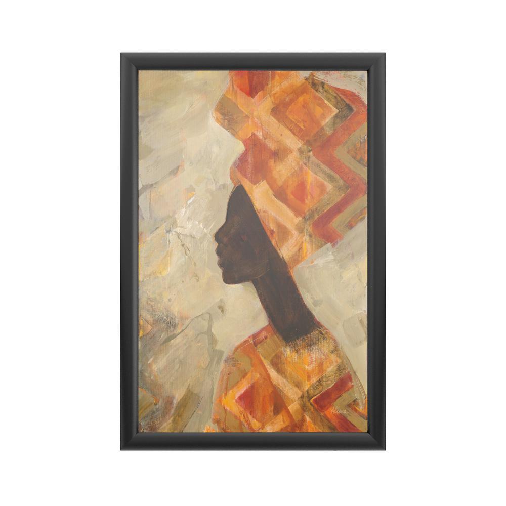 Trademark Fine Art African Beauty Ii By Albena Hristova Framed With Led Light Figurative Wall Art 24 In X 16 In Wap09082 B Led The Home Depot