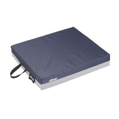 Skin Protection Gel E 3 in. Wheelchair Seat Cushion