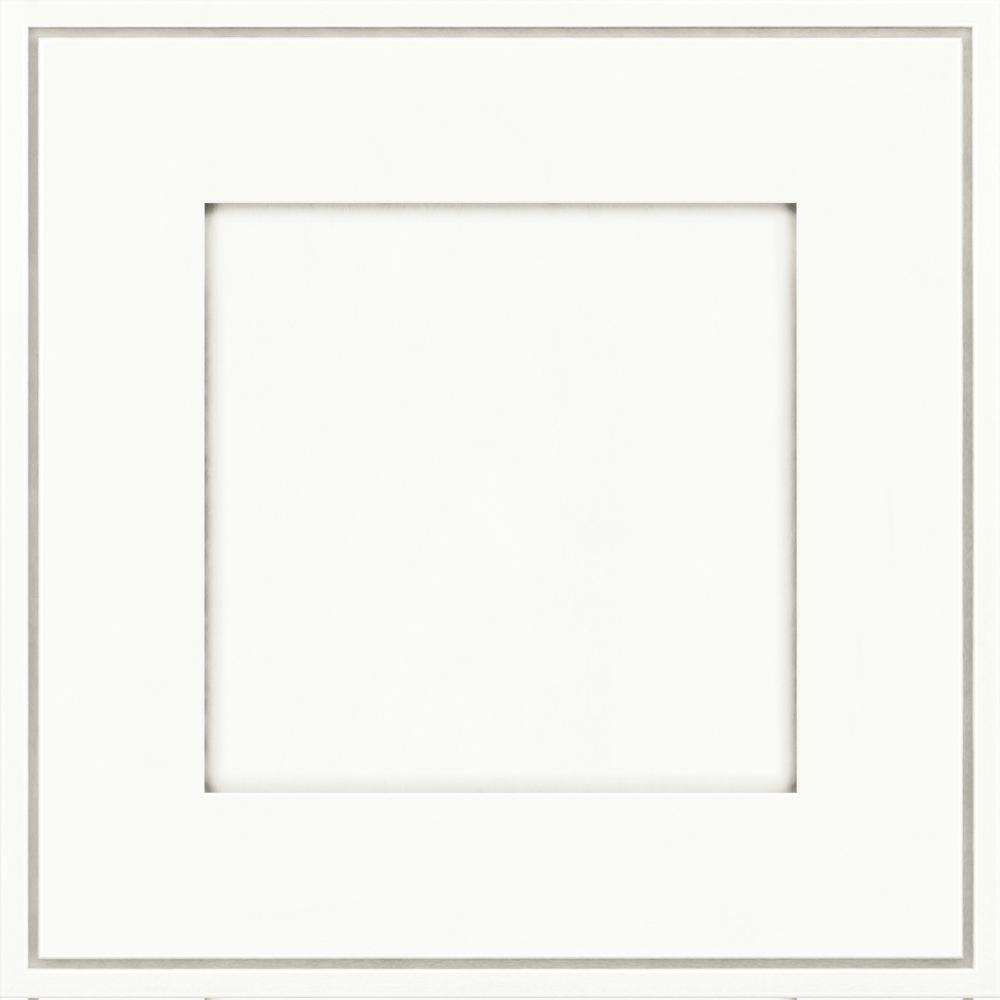 KraftMaid 15 X 15 In. Cabinet Door Sample In Welch Maple In Dove White