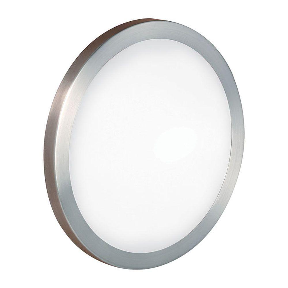 null Arezzo 1-Light Matte Nickel Wall/Ceiling Light