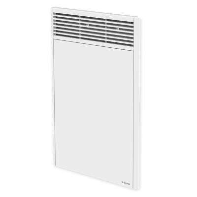 Orleans High 18 in. x 27-7/8 in. 1000-Watt 240-Volt Forced Air Electric Convector in White without Control