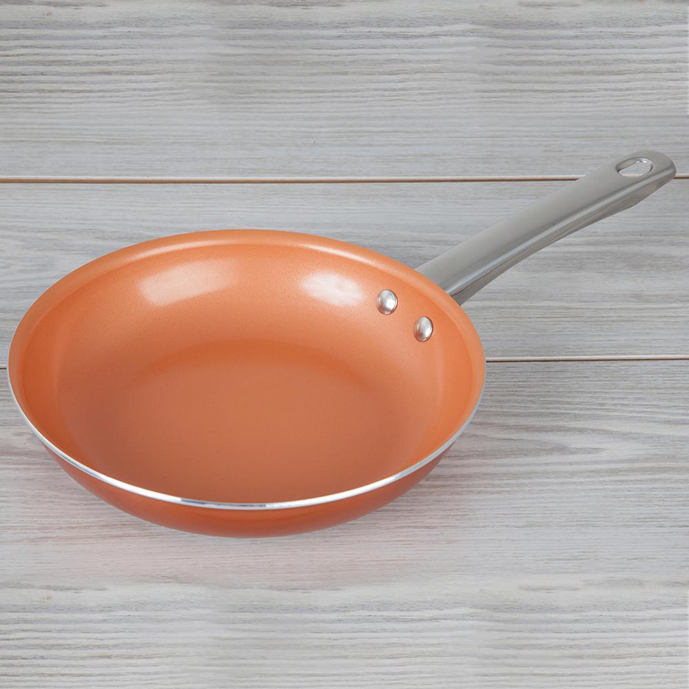 10 in. Copper Nonstick Frying Pan