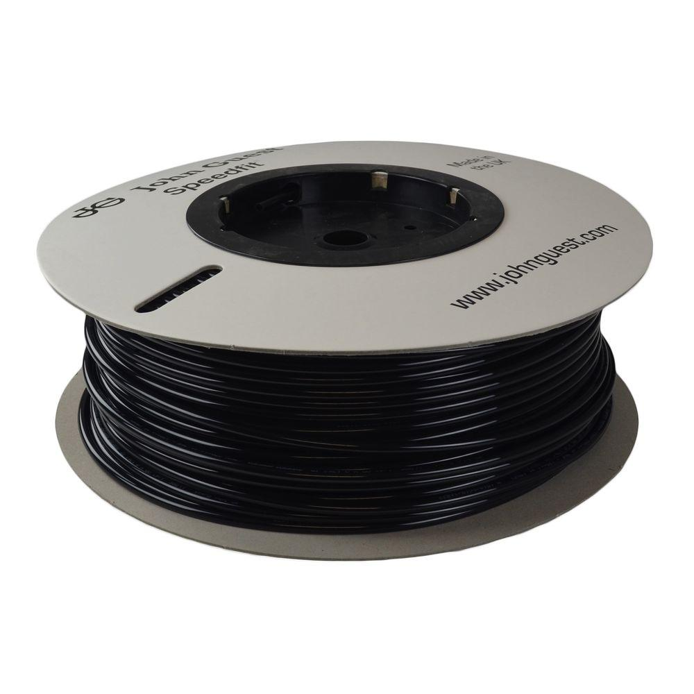 1/4 in. x 500 ft. Polyethylene Tubing Coil in Black