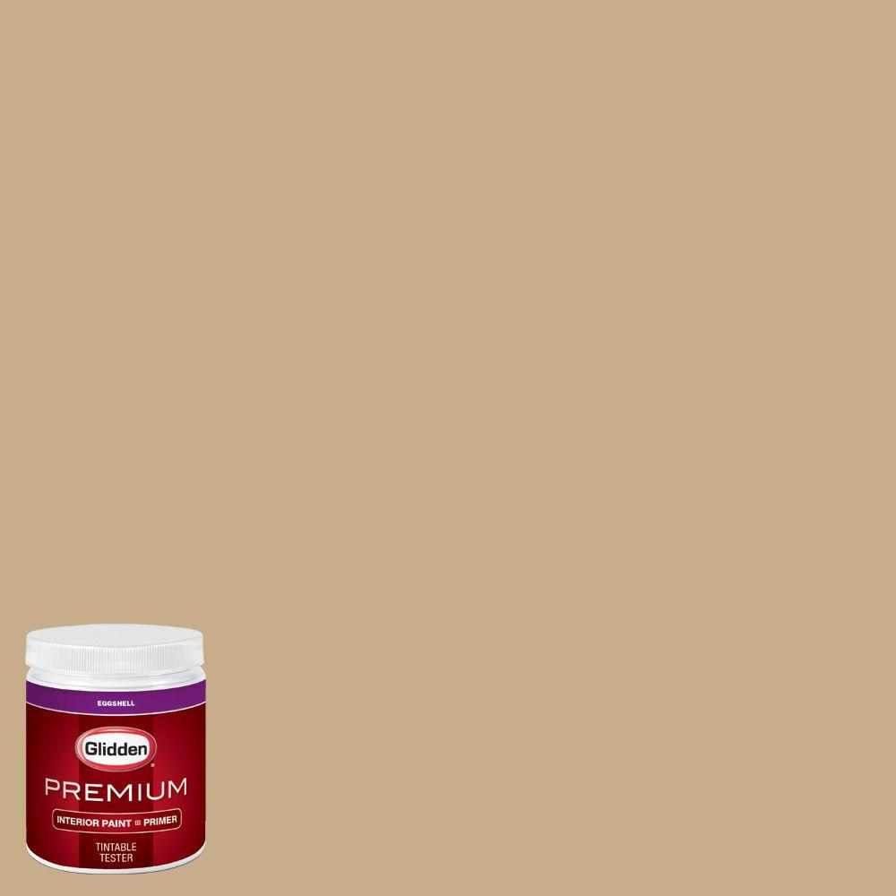 Glidden Bathroom Paint: Glidden Premium 8 Oz. #HDGO64 Satin Gold Eggshell Interior