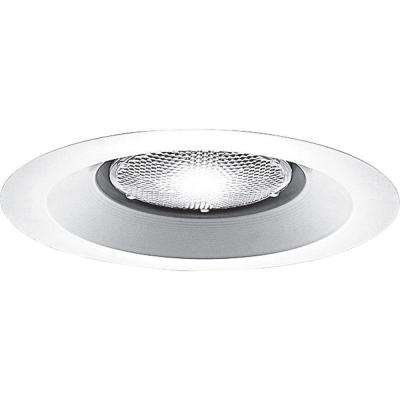 6 in. White Open Trim for Shallow Recessed Housings