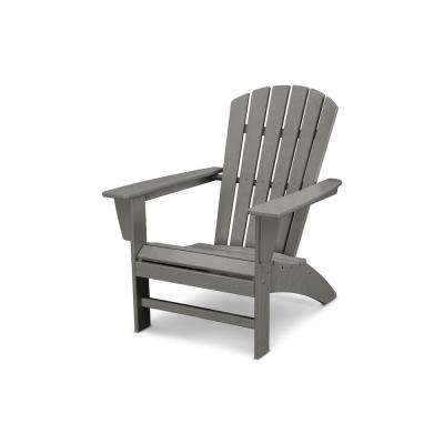 traditional curveback slate grey plastic outdoor patio adirondack chair - Decorating Adirondack Chairs For Christmas